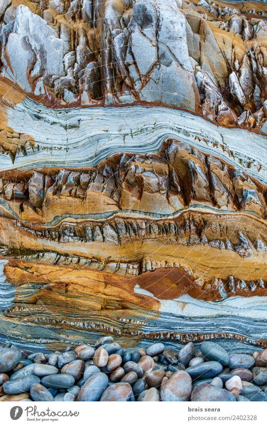Natur blau Farbe Meer Strand gelb Umwelt Hintergrundbild natürlich Küste Kunst Erde Felsen Design Europa