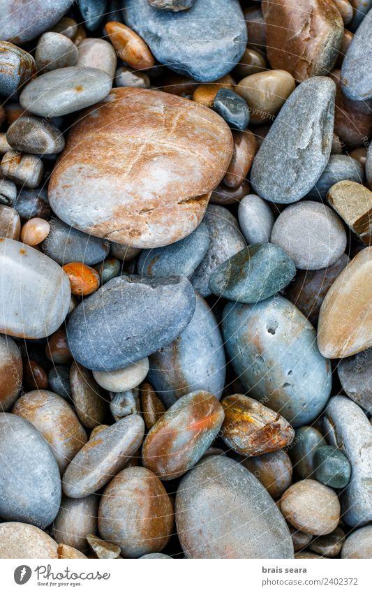 Kieselsteine Strand Meer Tapete Wissenschaften Umwelt Natur Erde Felsen Küste Stein Design Farbe Kunst silencio Playa Asturien Spanien Europa el silencio siment