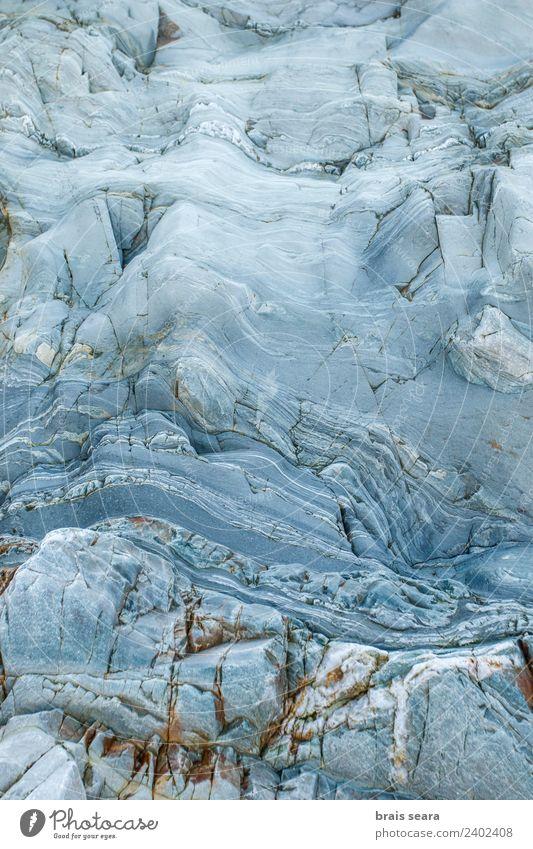 Natur blau Farbe Meer Strand Umwelt Hintergrundbild Küste Stil Kunst Stein Erde Design Dekoration & Verzierung Europa