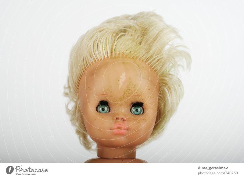schön Gesicht Haare & Frisuren Haut trist Kunststoff Schminke weinen Mensch