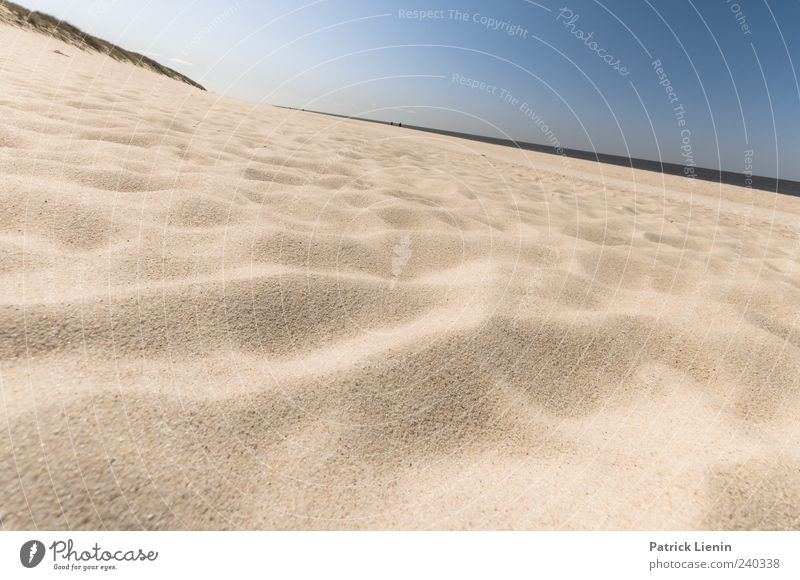 Spiekeroog | Einfach mal abliegen Himmel Natur Ferien & Urlaub & Reisen Meer Strand Einsamkeit Ferne Umwelt Landschaft Küste Freiheit Sand hell Erde Wetter