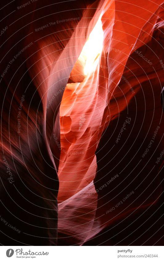 Light... Natur Umwelt Stimmung Felsen außergewöhnlich Urelemente fantastisch Lichtspiel Naturphänomene abstrakt Felswand Gesteinsformationen Antelope Canyon