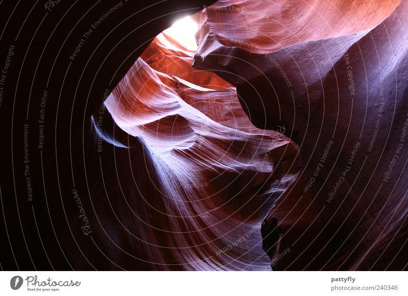 Waves... Natur rot Umwelt Landschaft Stimmung Reisefotografie außergewöhnlich Urelemente fantastisch Lichteinfall Gegenlicht Naturphänomene Gesteinsformationen