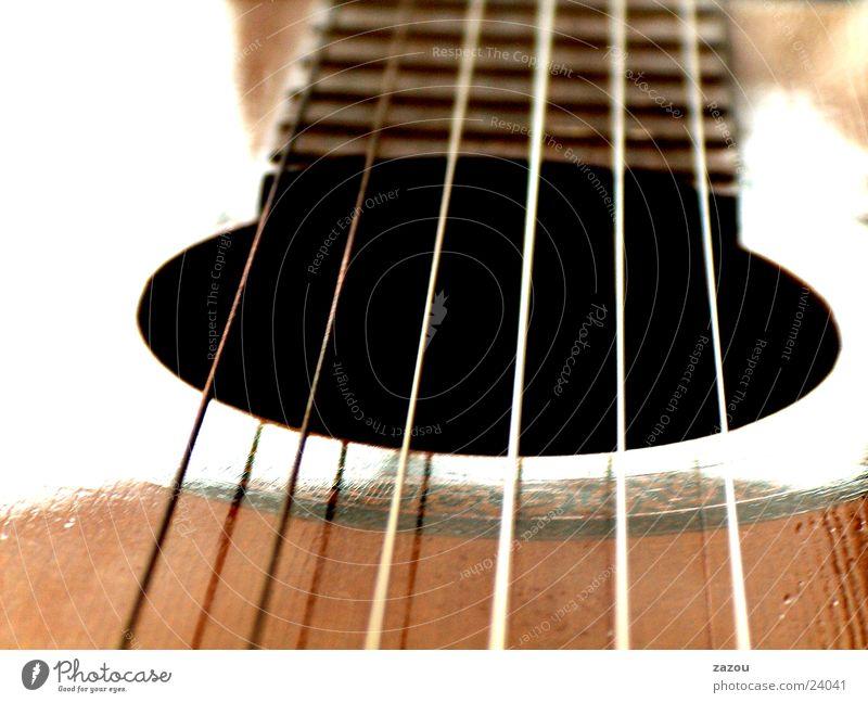 play my guitar Saite Konzertgitarre Freizeit & Hobby Musik Gitarre Musikinstrument Makroaufnahme