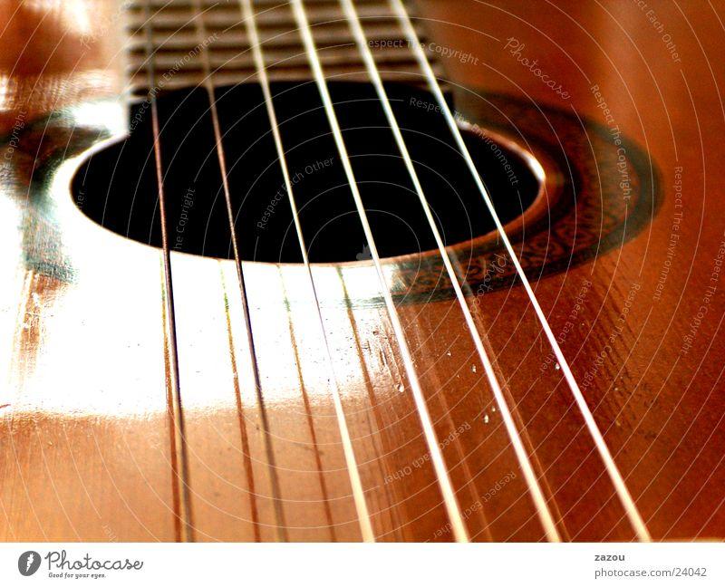play my guitar again Saite Konzertgitarre Freizeit & Hobby Gitarre Musik Musikinstrument Makroaufnahme