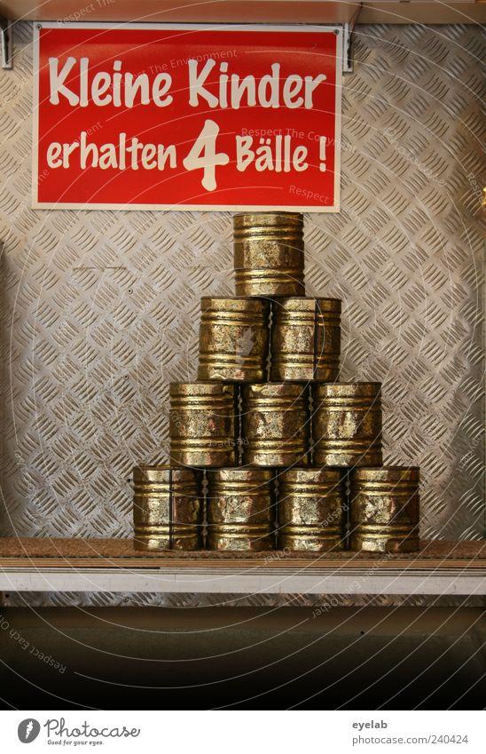 Diskriminierung alt rot Freude Spielen Metall Freizeit & Hobby Schilder & Markierungen authentisch Schriftzeichen kaputt Hinweisschild retro Ziffern & Zahlen