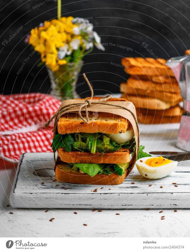 grün weiß Blume Speise Gesundheitswesen braun frisch Tisch kochen & garen lecker Gemüse Frühstück Essen zubereiten Brot Abendessen Fleisch