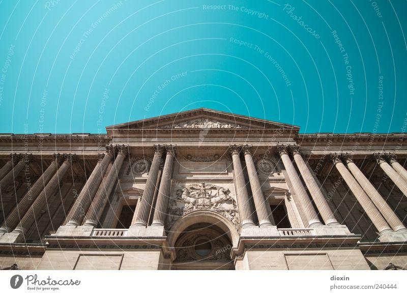 Palais du Louvre (2) alt Ferien & Urlaub & Reisen Architektur Gebäude Fassade Tourismus authentisch Europa Macht Bauwerk Burg oder Schloss historisch Balkon