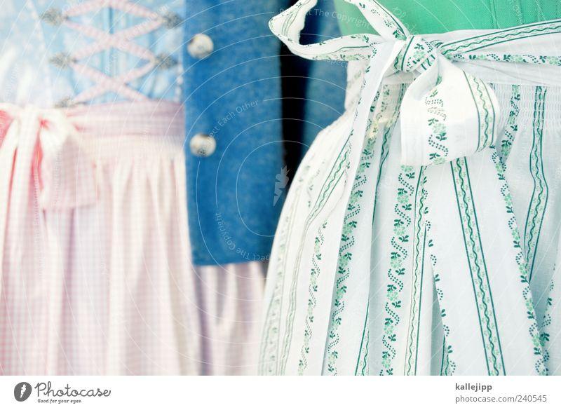 wo der wildbach durch das höschen rauscht Mensch Frau Erwachsene feminin Stil elegant Lifestyle Kleid Jacke Bayern Tradition Schleife Deutsch 2 Schürze