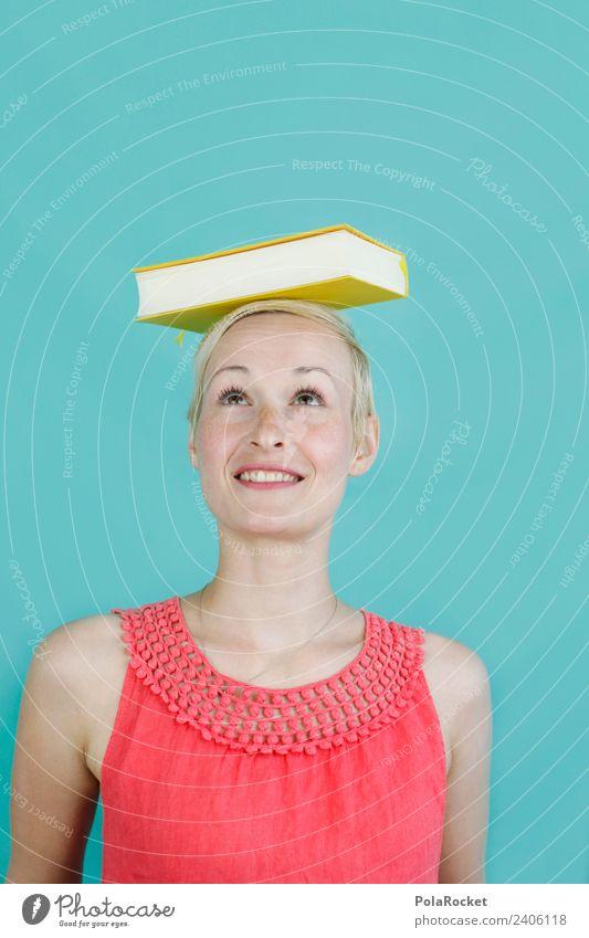 #A# gemeistert I Frau Kunst Schule ästhetisch lernen Buch lesen Erwachsenenbildung Bildung Beruf Gleichgewicht Karriere Berufsausbildung Kunstwerk Wissen