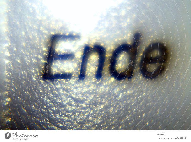 Das Ende! Makroaufnahme Nahaufnahme Tastatur Detailaufnahme