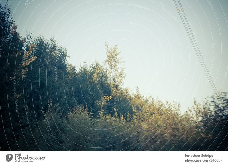 ` Himmel Natur blau grün Baum Sommer Blatt Umwelt Landschaft Gefühle Stimmung Wetter Idylle Schönes Wetter Neigung Momentaufnahme