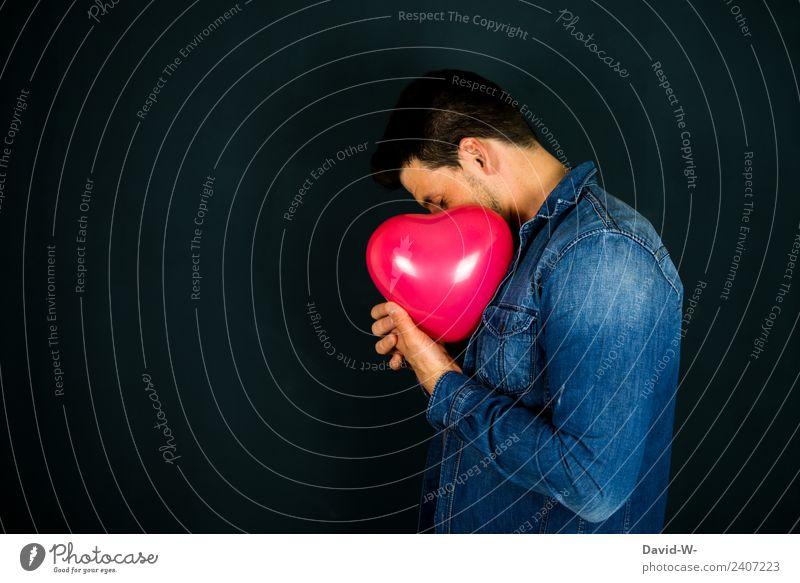Liebe Gesundheit Leben harmonisch Zufriedenheit ruhig Valentinstag Muttertag Trauerfeier Beerdigung Mensch maskulin Junger Mann Jugendliche Erwachsene 1 Kunst