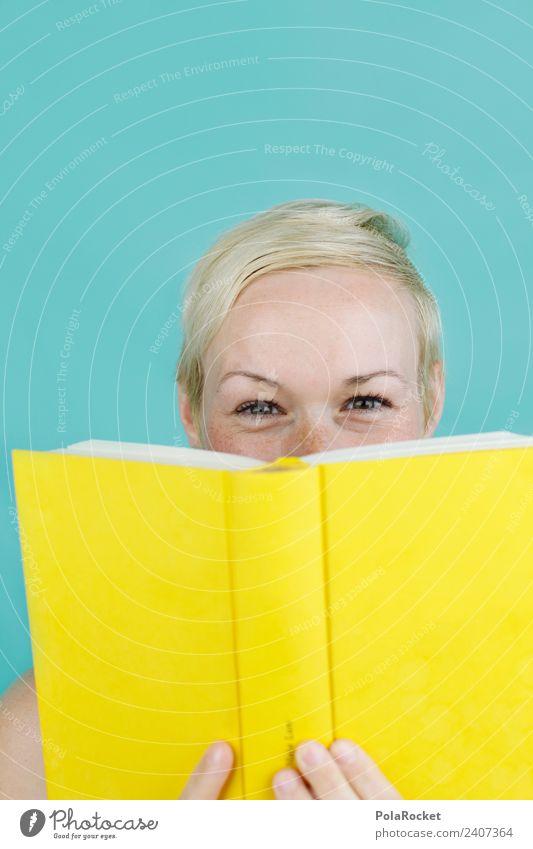 #A# versteckt Junge Frau Jugendliche 1 Mensch 18-30 Jahre Erwachsene Kunst Kultur Jugendkultur Printmedien ästhetisch lesen Buch Buchmesse Bildung Bildungsreise