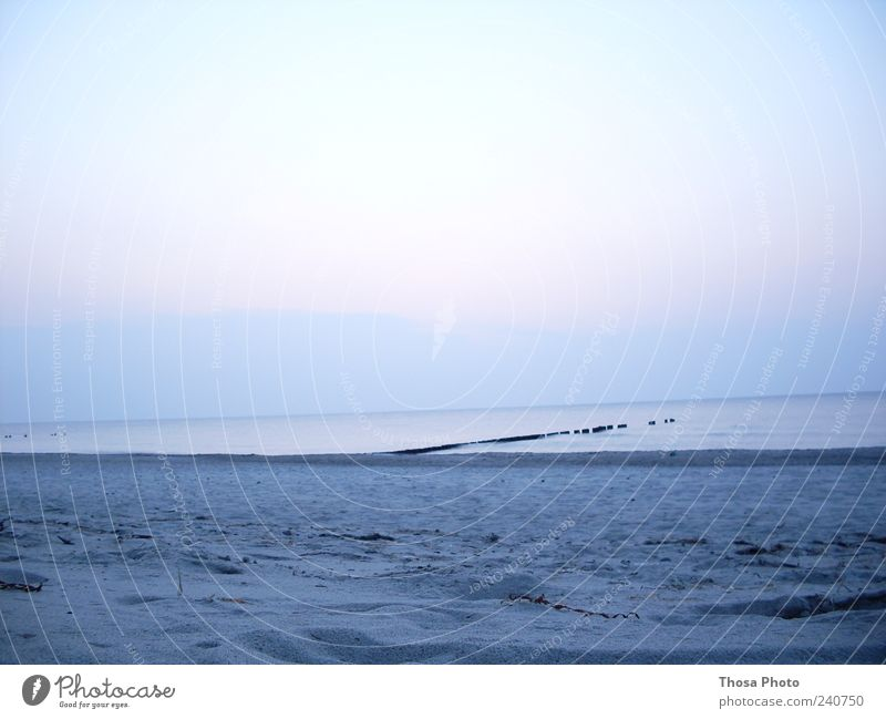 blauer sand ruhig Schwimmen & Baden Ferne Sommerurlaub Strand Meer Erde Sand Himmel Horizont Sonnenaufgang Sonnenuntergang Herbst Klimawandel Küste Seeufer