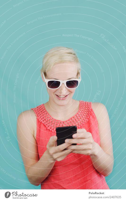 #A# mobil unterwegs Kunst Kunstwerk ästhetisch Mobilität Mobilfunk Handy Handy-Kamera Chatten Kommunizieren kommunikativ Kommunikationsmittel Jugendliche modern