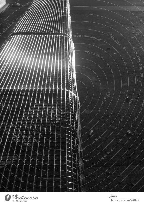 schwarze reflektion weiß Bank Bahnhof Reaktionen u. Effekte Fototechnik