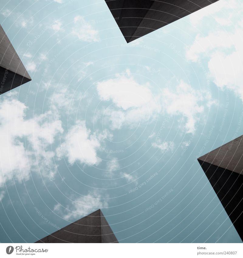 """""""Dein Wille geschehe ..."""" ?!? 4 Mensch Himmel Wolken Denkmal Stein blau Zufriedenheit Erfahrung Genauigkeit Hoffnung nachhaltig Symmetrie Tod Trauer Überleben"""