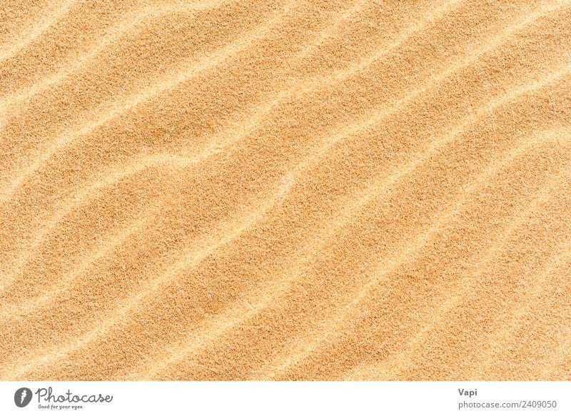 Natur Sommer Meer Strand Wärme gelb natürlich Küste orange braun Sand Design gold Sauberkeit Wüste Düne