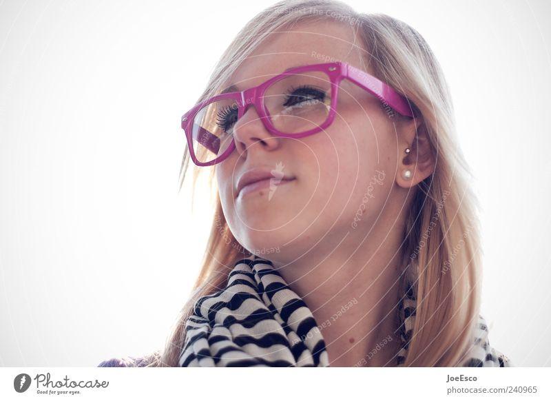 #240965 Mensch Frau Jugendliche schön Gesicht Erwachsene Erholung Stil Mode träumen Zufriedenheit blond rosa natürlich 18-30 Jahre Lifestyle