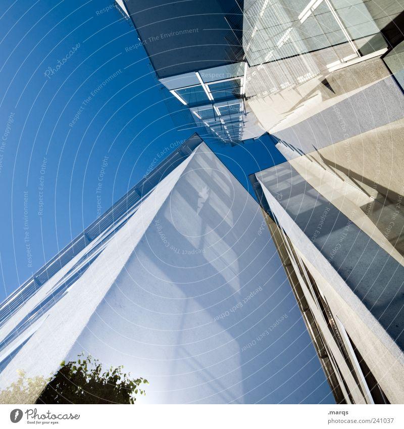 Higher Fenster Architektur Gebäude Stil Business Fassade außergewöhnlich hoch Design modern frisch Wachstum ästhetisch Perspektive einzigartig Bankgebäude