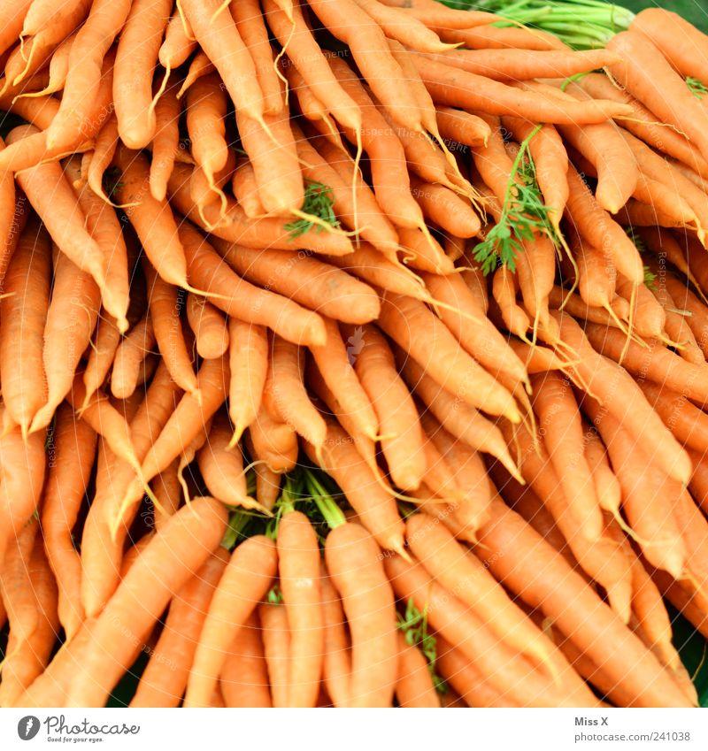 Möhrchentag Ernährung Lebensmittel orange Gemüse lecker Ernte Bioprodukte Wurzel Möhre Vegetarische Ernährung Wurzelgemüse Landwirtschaft Wochenmarkt