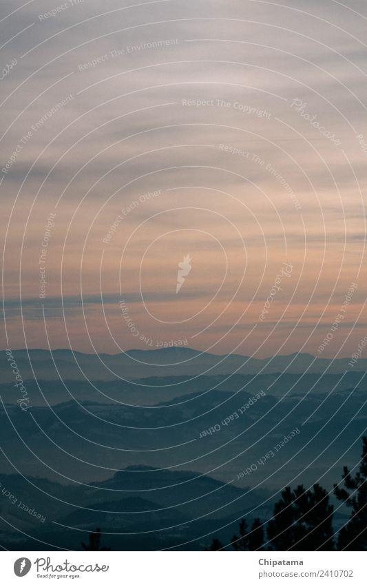 Bergsonnenlicht Umwelt Natur Landschaft Urelemente Himmel Wolken Nachthimmel Horizont Sonne Nebel Schnee Felsen Berge u. Gebirge Schlucht laufen Gefühle