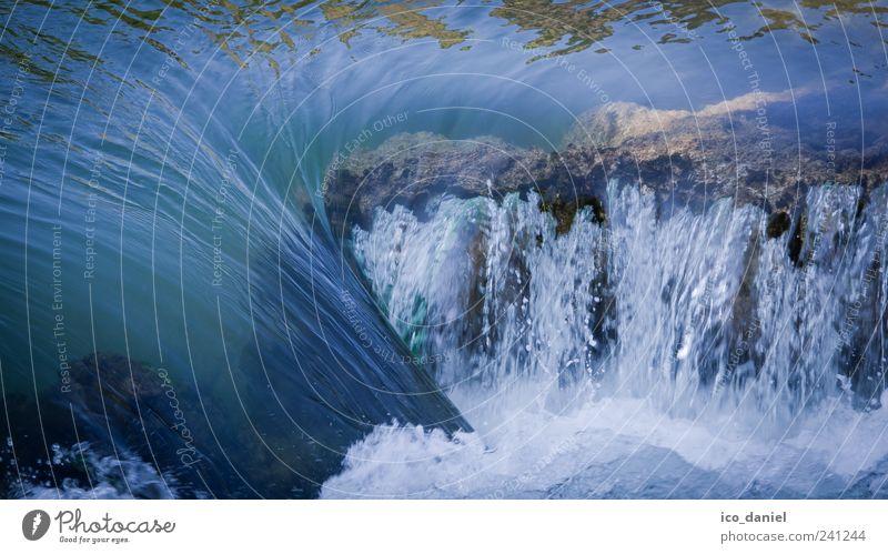 ...fliessen lassen... Natur Wasser Sommer Einsamkeit Erholung Umwelt Landschaft Gefühle Freiheit außergewöhnlich elegant ästhetisch Urelemente Fluss genießen