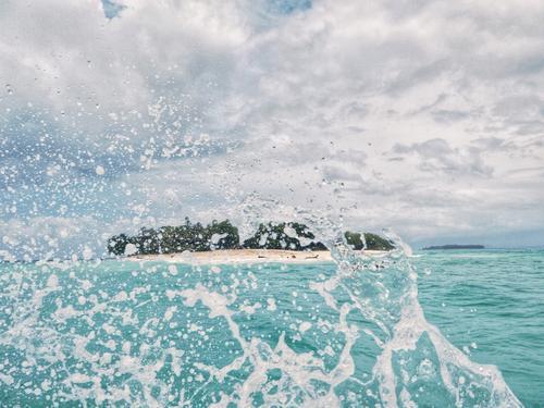 la Isla bonita Himmel Sommer blau Wasser Landschaft weiß Meer Wolken Strand Küste Bewegung Glück Tourismus Schwimmen & Baden Sand Horizont