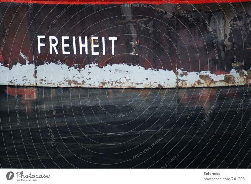 Einmal zum Mitnehmen, bitte! Tourismus Ausflug Freiheit Industrie Schifffahrt Binnenschifffahrt Fischerboot Hafen Metall Rost Schriftzeichen Ziffern & Zahlen