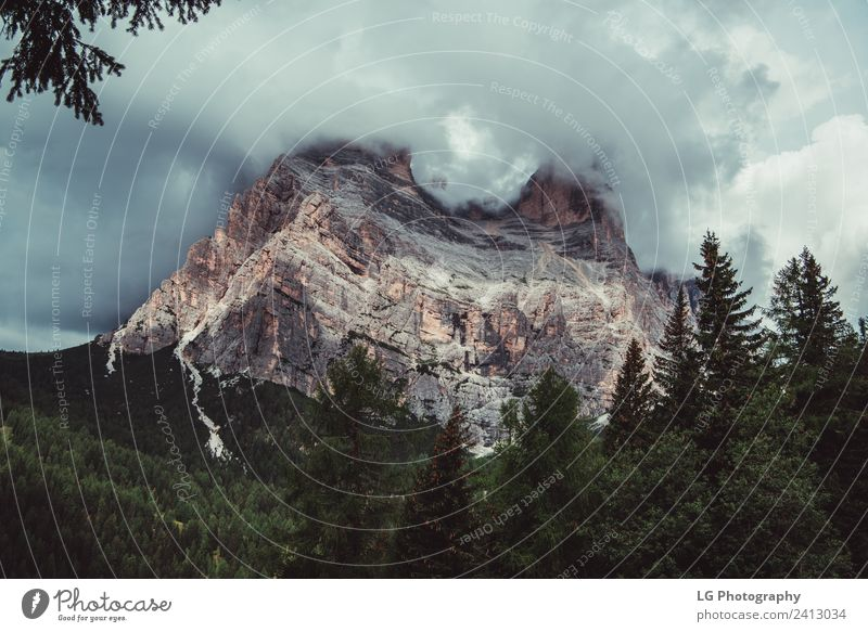 Dolomiten Norditalien Winter Berge u. Gebirge Landschaft Himmel Wolken Wetter See laufen Italien Aussicht trentino südtirol Alpenseen Alpenmorgen atemberaubend