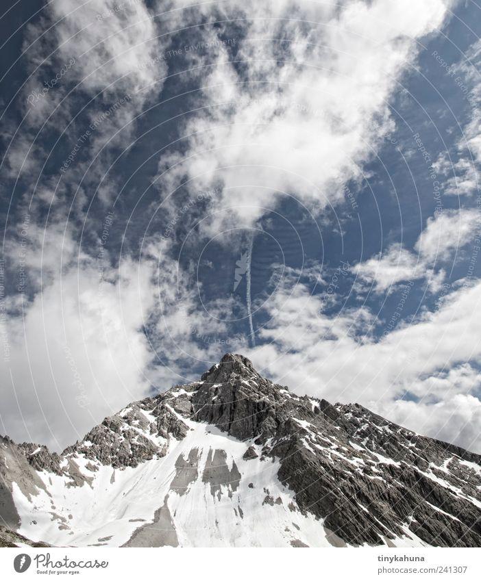 Vorderseespitze Himmel Natur Ferien & Urlaub & Reisen Sommer Wolken Ferne Umwelt Landschaft Berge u. Gebirge Freiheit träumen Felsen groß hoch Ausflug Tourismus