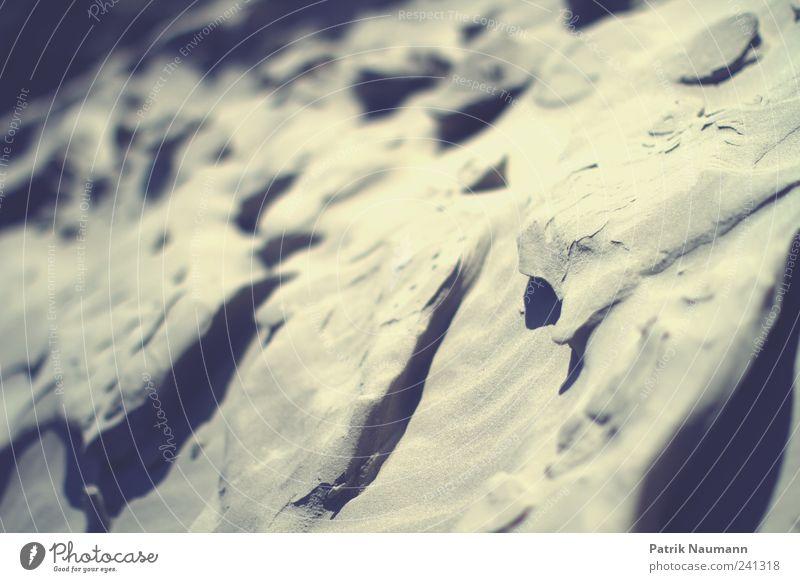 Sandlandschaft Natur Strand Umwelt Bewegung Küste Wind außergewöhnlich ästhetisch Perspektive Warmherzigkeit Sicherheit Wandel & Veränderung Schönes Wetter