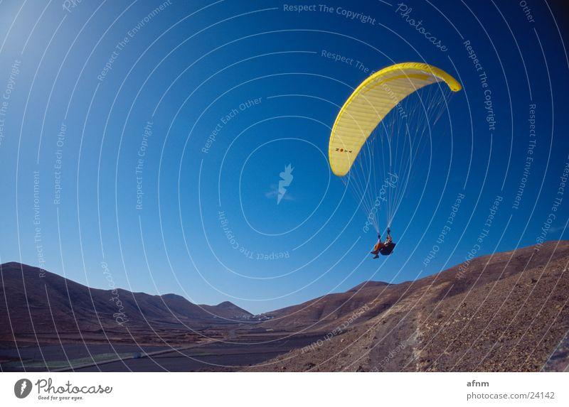 Nur Fliegen ist schöner IV Himmel Sport Berge u. Gebirge Fallschirm Gleitschirm Flugsportarten