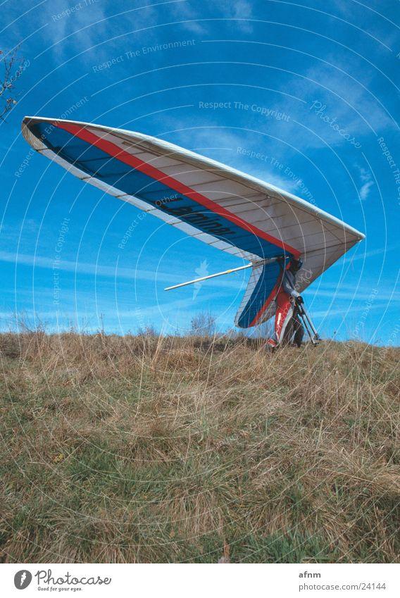 Nur Fliegen ist schöner V Himmel Sport Wiese Drache Flugsportarten