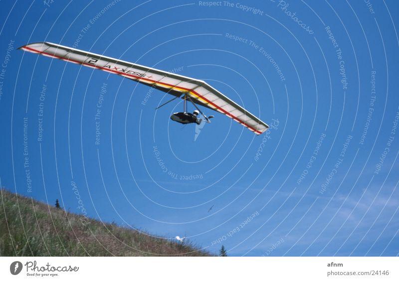 Nur Fliegen ist schöner Himmel Sport Drache Flugsportarten