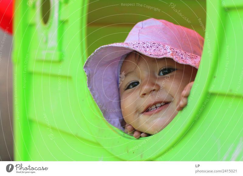 Lustiges Gesicht 2 Lifestyle Freude Freizeit & Hobby Spielen Kinderspiel Kindererziehung Bildung Kindergarten Schulhof Mensch Baby Mädchen Eltern Erwachsene