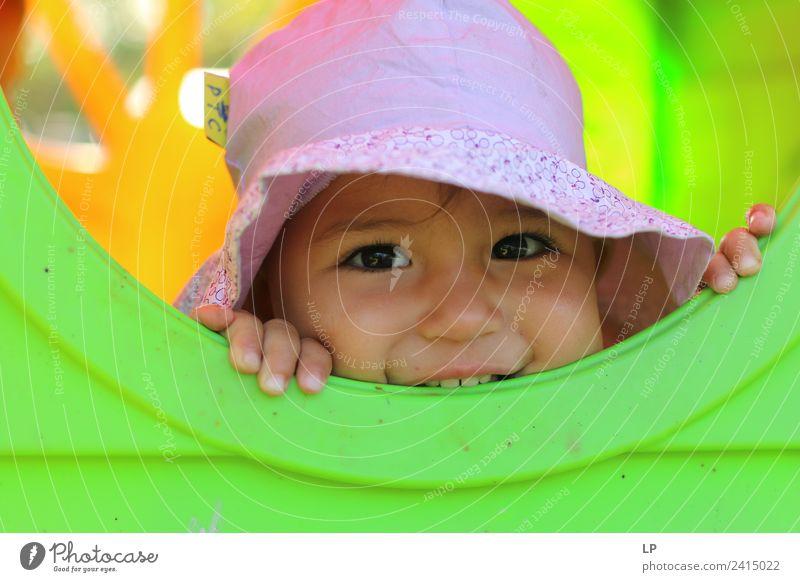 Ich sehe dich Lifestyle Freude Freizeit & Hobby Spielen Kindererziehung Bildung Kindergarten Mensch feminin Baby Kleinkind Mädchen Eltern Erwachsene Geschwister