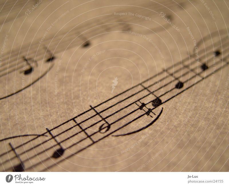 fis Blatt Musik Papier Teile u. Stücke Konzert Dynamik Musiknoten Klang durchleuchtet