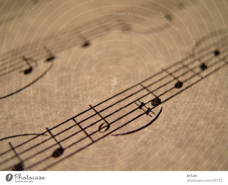 fis Blatt Papier Klang durchleuchtet Konzert Musik Musiknoten Teile u. Stücke Sheet Dynamik Makroaufnahme