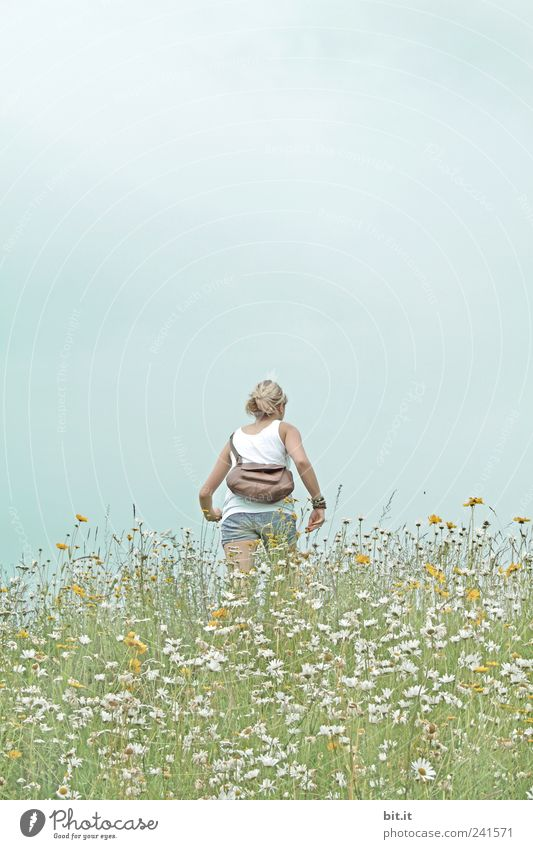 auf gehts... Mensch Natur Ferien & Urlaub & Reisen Pflanze Sommer Erholung Landschaft Blume ruhig Umwelt Leben Wiese Sport Frühling Gesundheit gehen