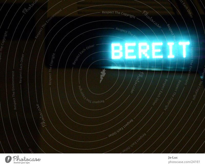 bist du...       (#2) blau Lampe Technik & Technologie Schriftzeichen Buchstaben Anzeige Laser Drucker Elektrisches Gerät