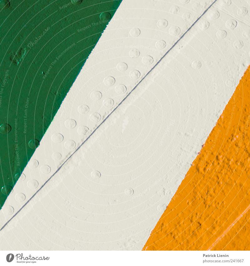 Colours Verkehr Schifffahrt Wasserfahrzeug Lack Linie grün rot weiß entdecken Farbe kompetent Sicherheit Symmetrie Kreis Oberfläche rau Farbfoto mehrfarbig