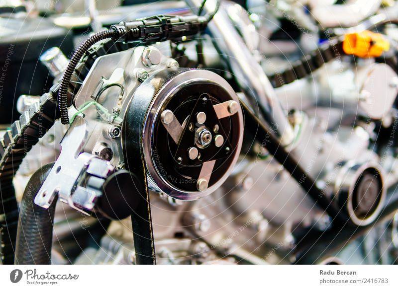 Lkw-Motor Motorkomponenten in der Pkw-Service-Inspektion Design Arbeit & Erwerbstätigkeit Beruf Fabrik Industrie Maschine Technik & Technologie Verkehr