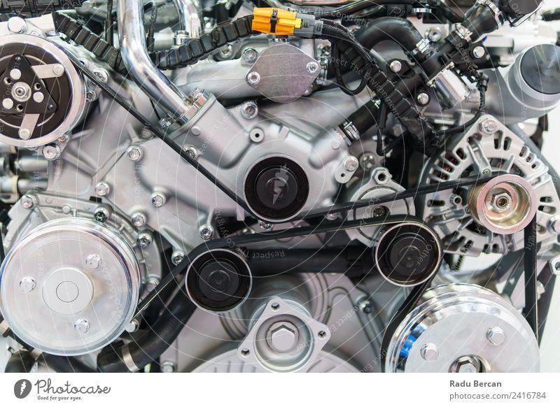 Lkw-Motor Motorkomponenten in der Pkw-Service-Inspektion Design Arbeit & Erwerbstätigkeit Beruf Fabrik Industrie Maschine Technik & Technologie Fahrzeug PKW