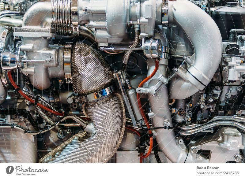 Lkw-Motor Motorkomponenten in der Pkw-Service-Inspektion Design Arbeit & Erwerbstätigkeit Beruf Industrie Maschine Technik & Technologie Verkehr Fahrzeug PKW