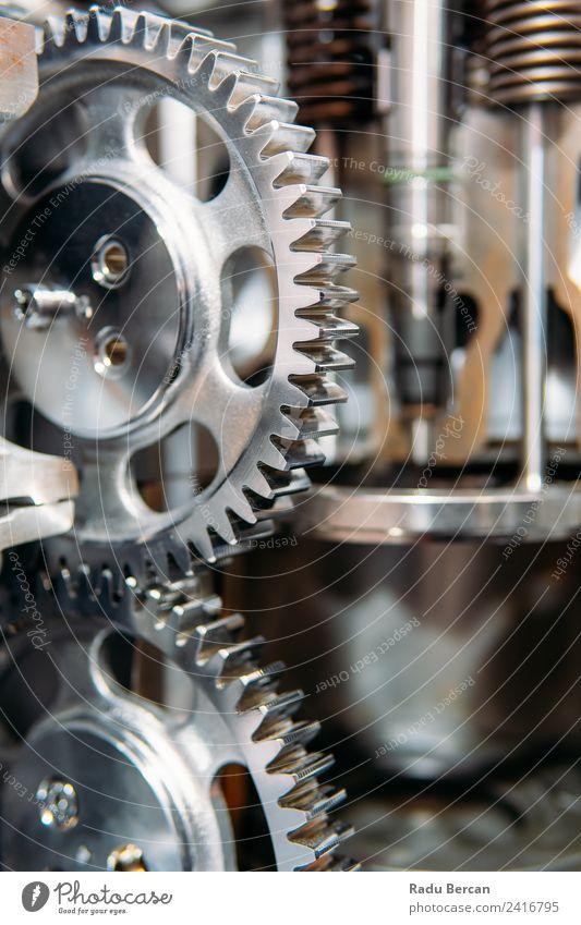 Zahnräder, Zahnräder und Räder im Lkw-Dieselmotor Design Arbeit & Erwerbstätigkeit Fabrik Industrie Baustelle Maschine Motor Technik & Technologie Fahrzeug PKW