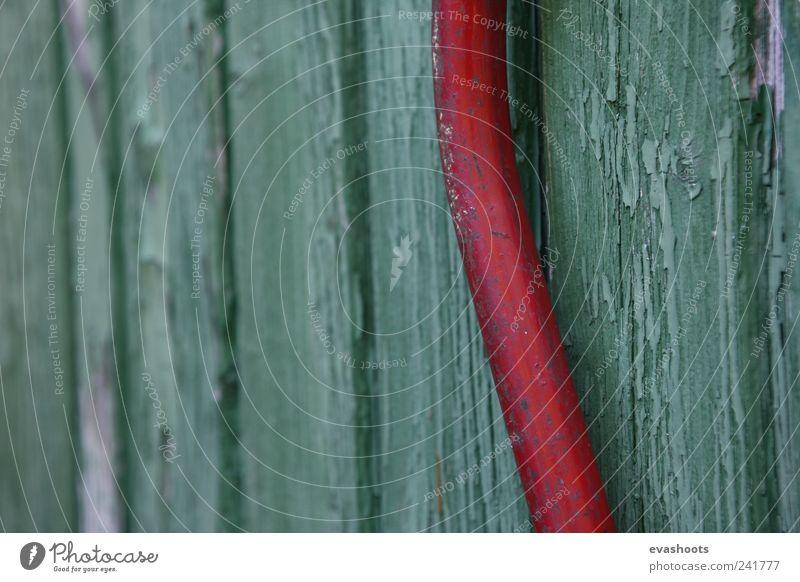 alt schön grün Sommer rot Umwelt Holz Garten Metall dreckig Tür Häusliches Leben ästhetisch kaputt Romantik Landwirtschaft
