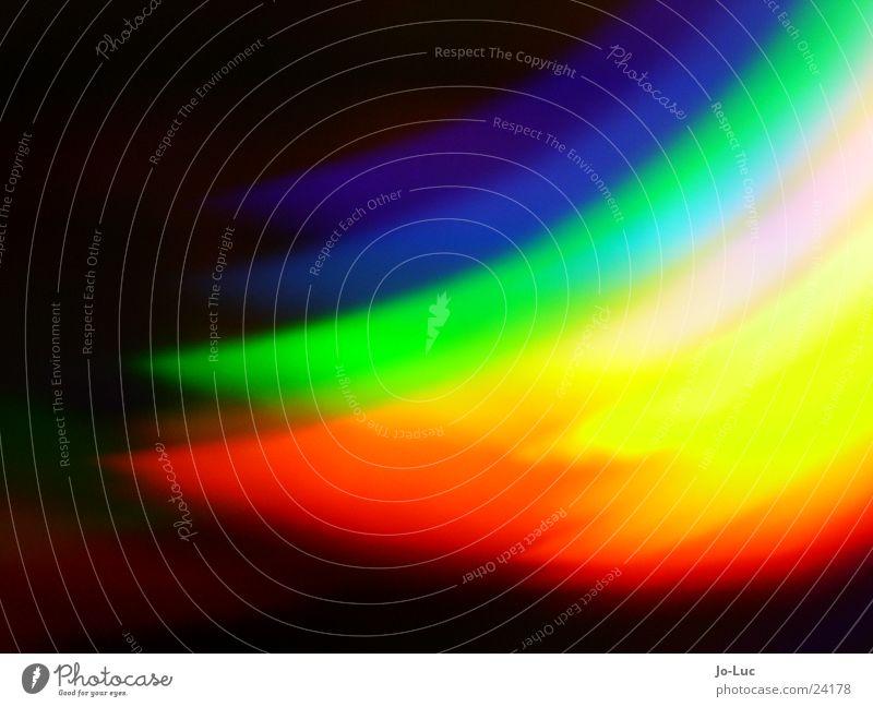 CD blau grün Farbe rot Musik Technik & Technologie Club Regenbogen Entertainment Daten Compact Disc Bruch Datenträger Elektrisches Gerät spektral DVD-ROM
