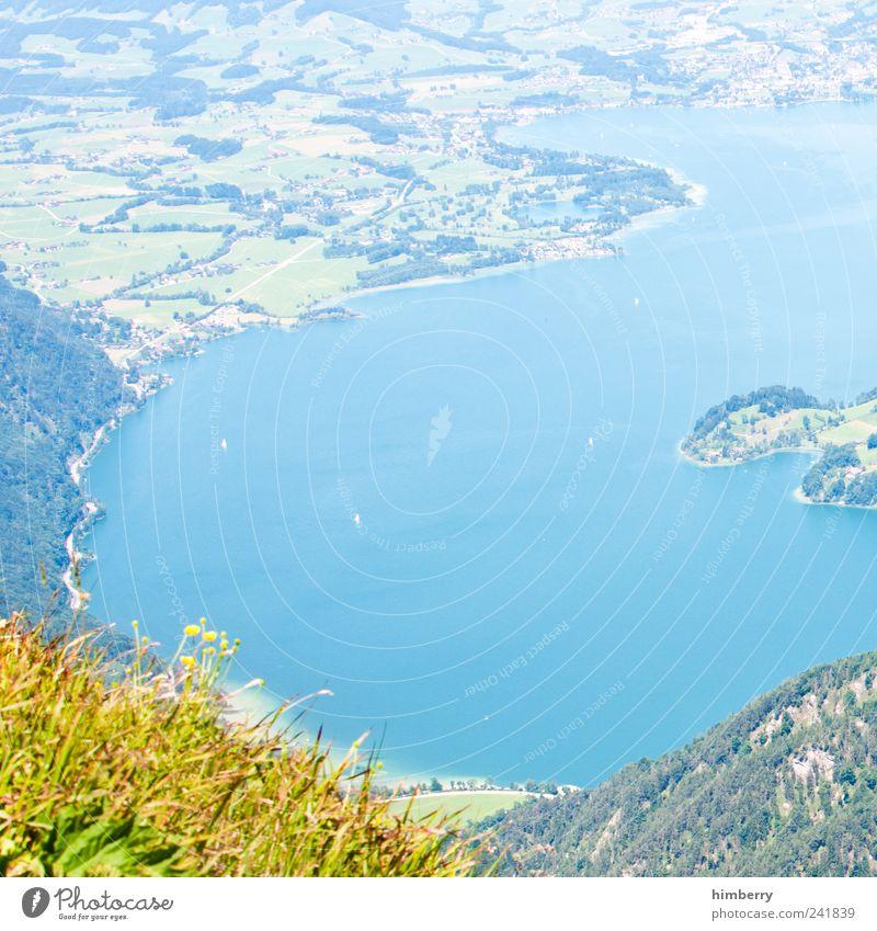 erdkunde Natur Ferien & Urlaub & Reisen Pflanze Sommer Blatt Ferne Umwelt Landschaft Berge u. Gebirge Freiheit See Wetter Klima wandern Ausflug Tourismus